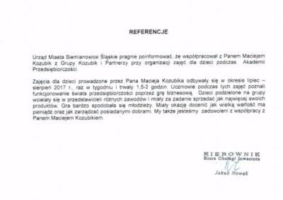 Akademia Przedsiębiorczości Maciej Kozubik Grupa Kozubik i Partnerzy