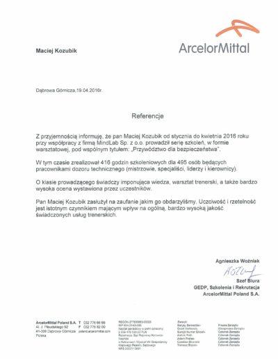 arcelormittal_referencje_Maciej-Kozubik