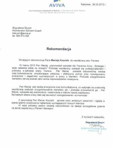 aviva_referencje_Maciej-Kozubik