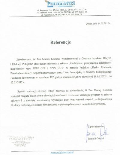 poliglotys_referencje_Maciej-Kozubik