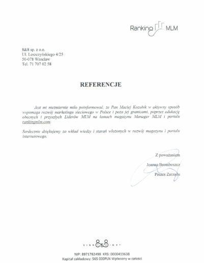 ranking_referencje_Maciej-Kozubik
