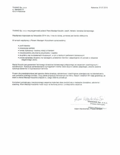 tiviano_referencje_Maciej-Kozubik