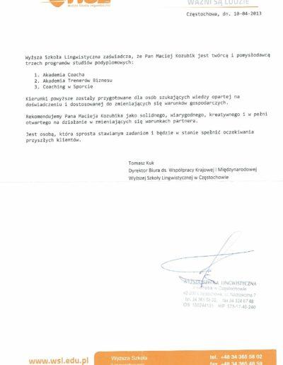 wsl_referencje_Maciej-Kozubik