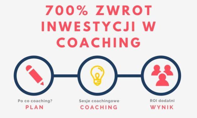 700% zwrot inwestycji w coaching